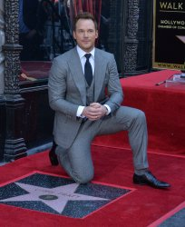 Chris Pratt honored with star on Hollywood Walk of Fame