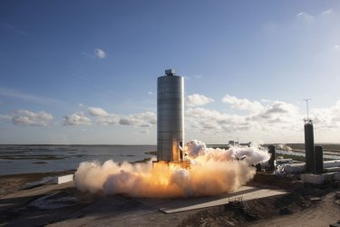 SpaceX's Starship SN5 Full-Size Prototype Completes Successful First Test Flight