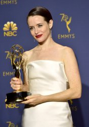 Claire Foy wins award at the 70th Primetime Emmy Awards in Los Angeles