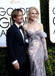 Keith Urban and Nicole Kidman attend the 74th annual Golden Globe Awards in Beverly Hills