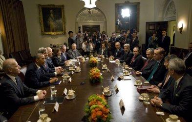 Obama and Turkish PM Erdogan Meet at White House