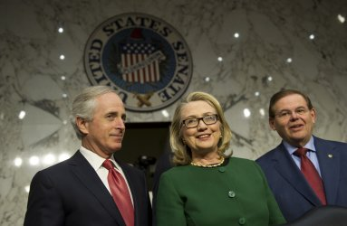 Senate Foreign Relations Committee holds a hearing on Benghazi in Washington, DC