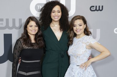 'Charmed' cast at The CW network Upfront in New York