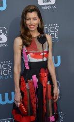 Jessica Biel attends the Critics' Choice Awards in Santa Monica