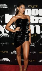 Danielle Herrington Walks the Red Carpet At The 2019 SI  Swimsuit Party In Miami Beach, Florida