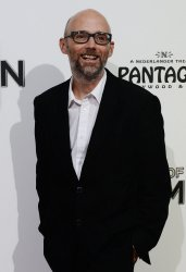 """Moby attends """"The Book of Mormon"""" premiere in Los Angeles"""