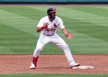 St. Louis Cardinals Matt Carpenter Hits Two Run Double