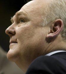 Nuggets Head Coach Karl Watches Clock in Denver