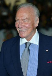 Christopher Plummer attends 'The Forger' world premiere at the Toronto International Film Festival