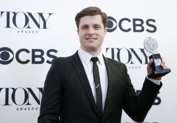 Neil Austin arrives at the Tony Awards