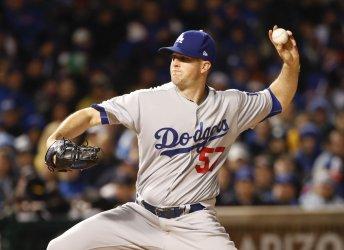 Los Angeles Dodgers pitcher Alex Wood