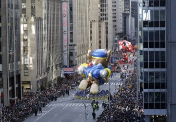 93rd Macy's Thanksgiving Day Parade in New York