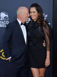 """Bruce Willis and Emma Heming attend the Comedy Central  """"Roast of Bruce Willis"""" in Los Angeles"""