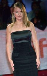 Julia Stiles attends 'Hustlers' premiere at Toronto Film Festival