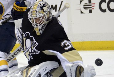 Penguins Goalie Matt Murray Allows Three Goals Early in Pittsburgh.