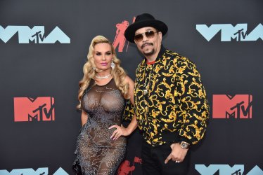Ice-T, Coco Austin at the MTV Video Music Awards