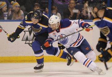 St. Louis Blues Alexander Steen and Edmonton Oilers Andrej Sekera