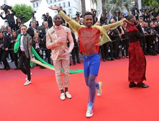 "Dancers from the film ""Port Authority"" attend the Cannes Film Festival"