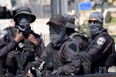 Israeli Police Patrol In East Jerusalem