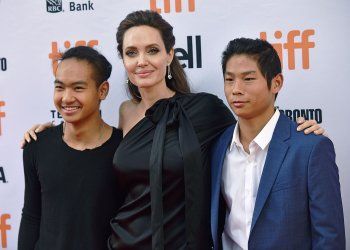 Angelina Jolie attends 'First They Killed My Father' premiere at the Toronto International Film Festival