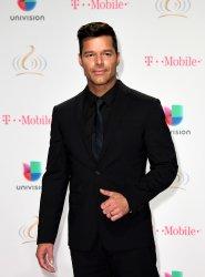 Latin Artist Ricky Martin Walks The Red Carpet at the 2017 Premio Lo Nuestro a La Música Latina
