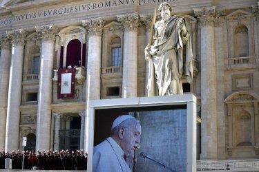 Pope Francis Urbi et Orbi. 25th December 2019