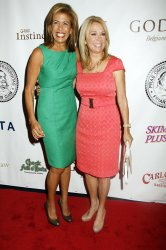 Kathie Lee Gifford and Hoda Kotb arrive for the Friars Club Roast of Betty White in New York