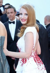 Jessica Chastain attends the Cannes Film Festival