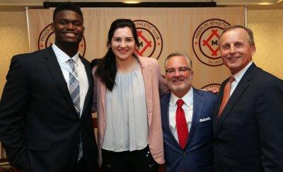 College basketball awards ceremony