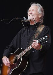 Kris Kristofferson performs at Glastonbury Festival