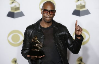 Dave Chappelle at 60th Annual Grammy Awards in New York