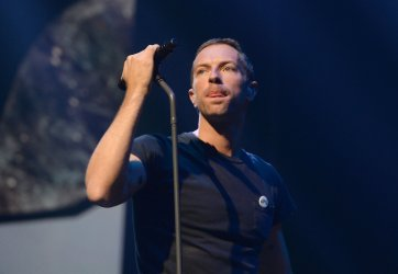 Coldplay performs live in Glasgow