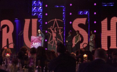 2015 Juno Gala Dinner & Awards in Hamilton