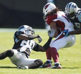 Carolina Panthers host the Arizona Cardinals in Charlotte