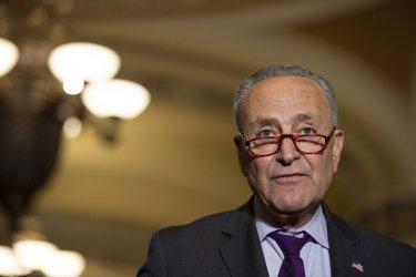 Senate Democrat Luncheon Press Conference