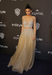 Kylie Jenner attends the InStyle and Warner Bros. Golden Globe after-party in Beverly Hills