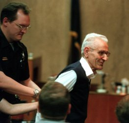 Dr. Jack Kevorkian sentenced to 10 to 25 years for the videotaped assisted-suicide