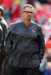 Browns head coach Gregg Williams