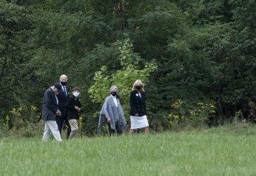 Joe Biden Visits Flight 93 National Memorial
