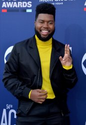 Khalid attends the Academy of Country Music Awards in Las Vegas