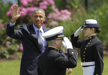 President Obama at the Commencement Exercises of the U.S. Coast Guard Academy