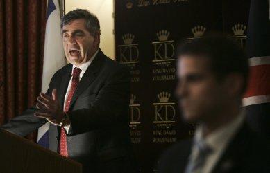 British PM Gordon Brown visits Jerusalem