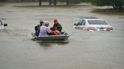 Tropical Storm Harvey is pounding Houston