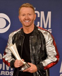 Shane McAnally wins award at the Academy of Country Music Awards in Las Vegas
