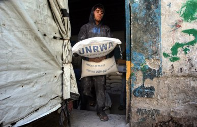 United Nations Provides Food Relief to Gaza