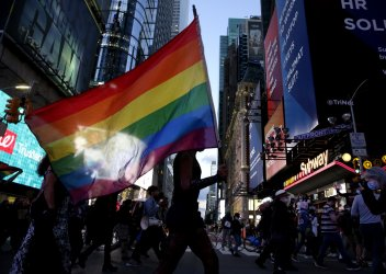 The People's March for Roxanne Moore in New York