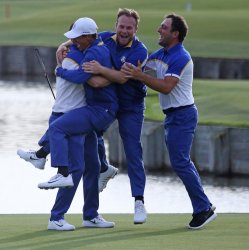 Alex Noren at the Ryder Cup 2018