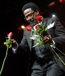 AL GREEN PERFORMS AT RIVER ROCK CASINO NEAR VANCOUVER