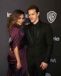 Naya Rivera and Ryan Dorsey attend attends the InStyle and Warner Bros. Golden Globe after-party in Beverly Hills
