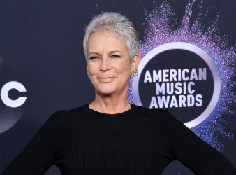 Jamie Lee Curtis attends American Music Awards in LA